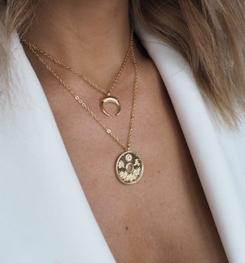 collier tendance hiver 2019
