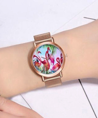 montre flamingo