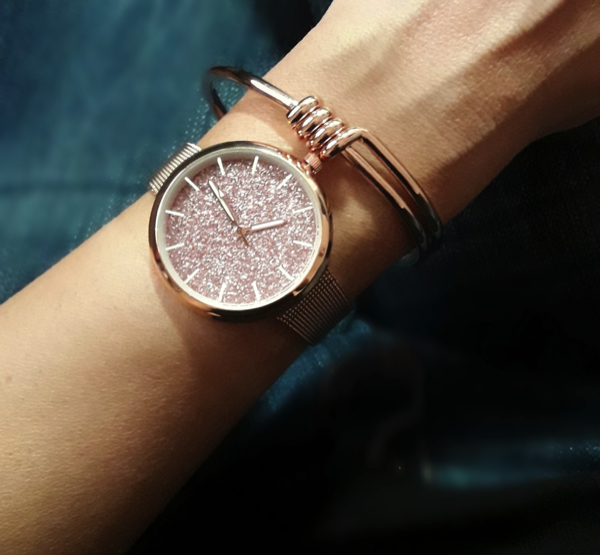 Montre rose gold