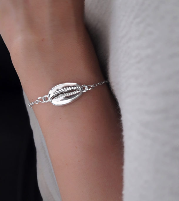 bracelet createur coquillage