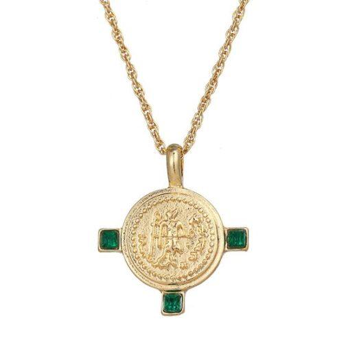 collier createur medaille