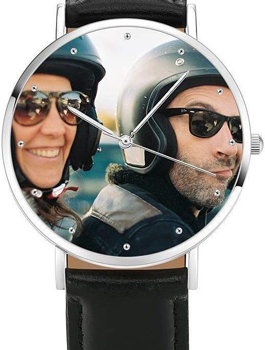 montre avec photo personnalise