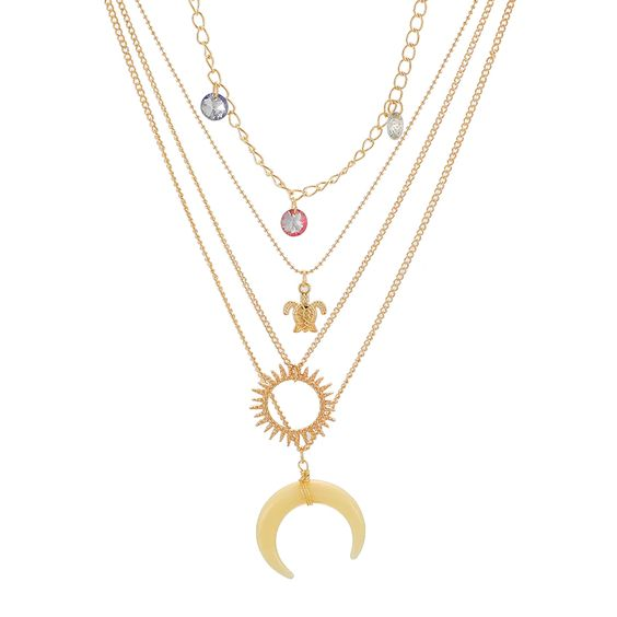 collier multirangs tendance ete