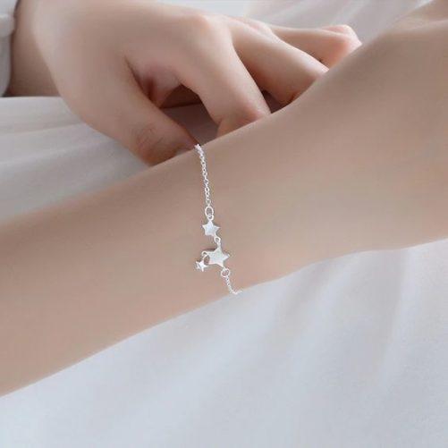 bracelet argent fille cadeau