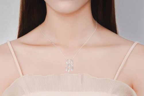 collier argent attapereves