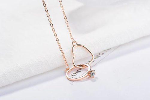collier coeur original