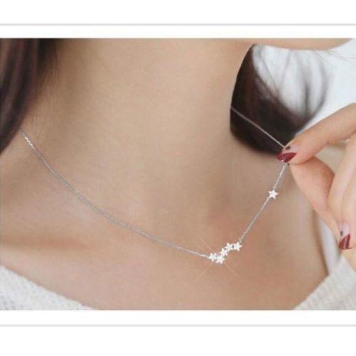 collier etoiles cadeau femme