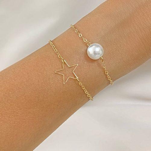 bracelet etoile cadeau tendance