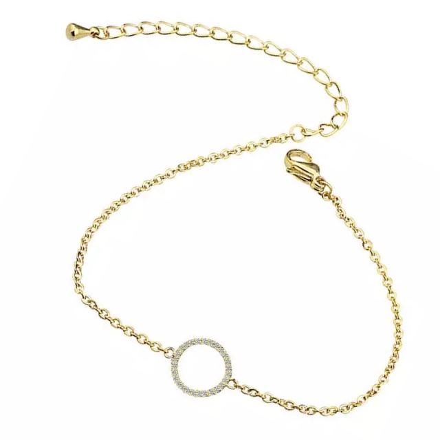 bracelet plaque or cadeau tendance