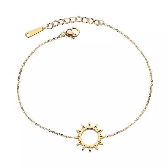 bracelet soleil or